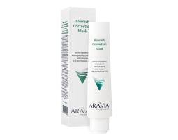 Маска-корректор против несовершенств с хлорофилл-каротиновым комплексом Blemish Correction Mask ARAVIA Professional