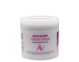 Малиновый крем-скраб Raspberry Cream Scrub, 300 мл, ARAVIA Laboratories