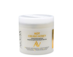 Термообёртывание медовое для коррекции фигуры Hot Cream-Honey, 300 мл, ARAVIA Laboratories