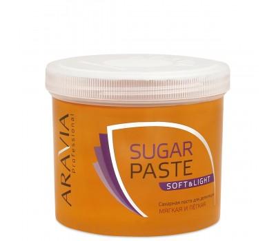 """Сахарная паста для депиляции ARAVIA Professional """"Мягкая и легкая"""" 750 г"""