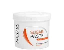 """Сахарная паста для депиляции """"Натуральная"""" мягкой консистенции ARAVIA Professional, 750 г"""