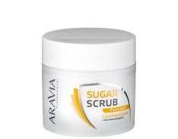 Сахарный скраб с маслом миндаля, 300 мл